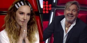 """""""No me toques"""": Ricardo Montaner pide una toalla para Belinda porque está sudada"""