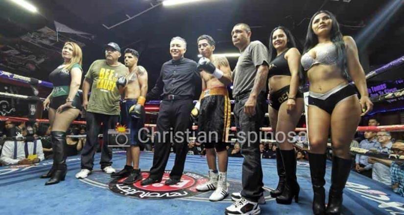 Encabeza Mendoza velada de War Boxing