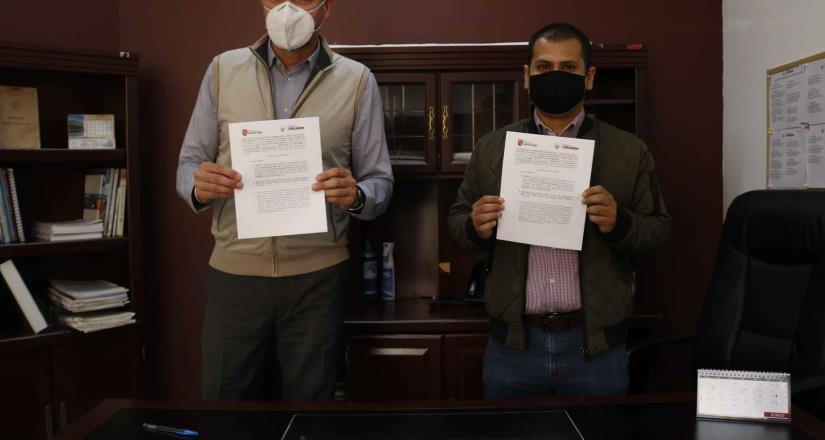 Firma COPLADEM convenio de colaboración con Universidad Nueva Baja