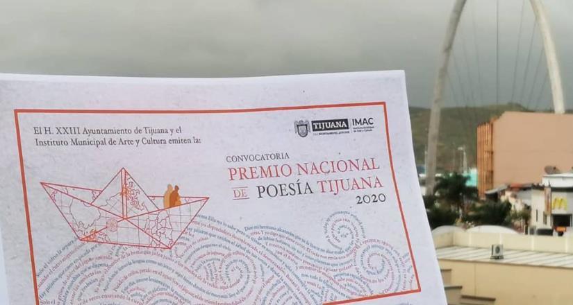 Últimos días para cierre de convocatoria del Premio Nacional de Poesía Tijuana 2020