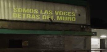 Artista Afroamericano interviene edificios de México con escritos de personas en prisión