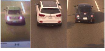 La FGE con arco lector, recupera tres vehículos robados