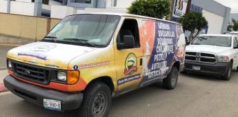 Asegura la FGE a un sujeto con vehículo robado