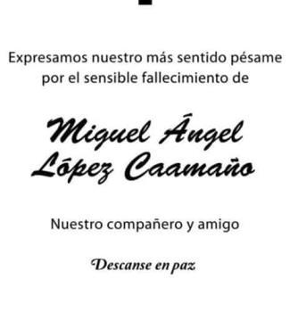 Miguel A´ngel Lo´pez Caaman~o