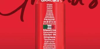 Coca-Cola dice ¡gracias! en una edición especial de sus latas
