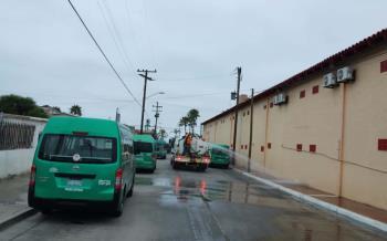 Continúa Gobierno Municipal con jornadas de sanitización de espacios públicos