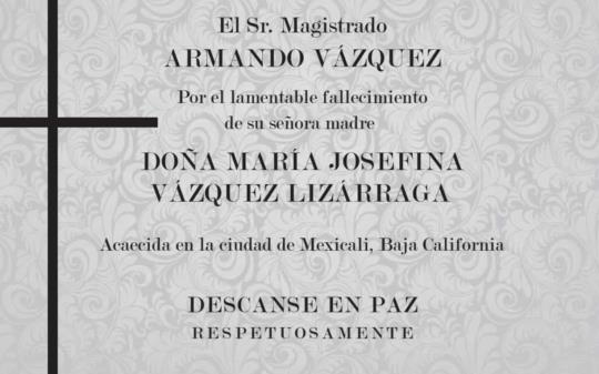 María Josefina Vázquez Lizárraga