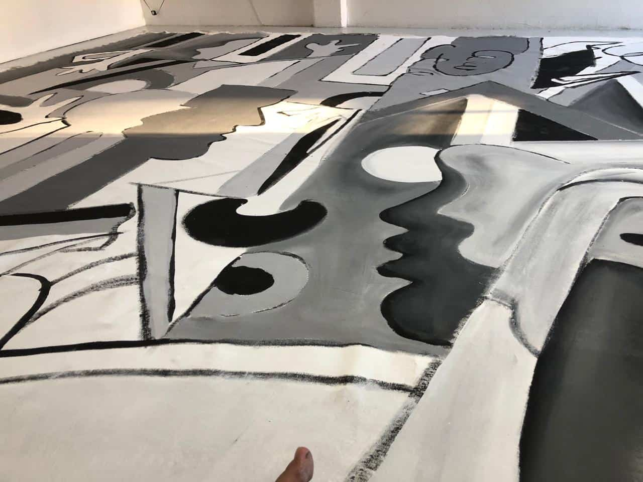 Frontera, obra por Enrique Chiu