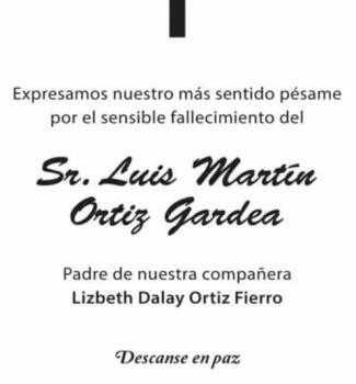 Luis Martín Ortiz Gardea