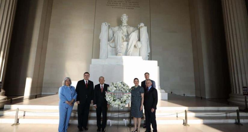 Inicia AMLO  gira en EE.UU, primeros encuentros con ciudadanos