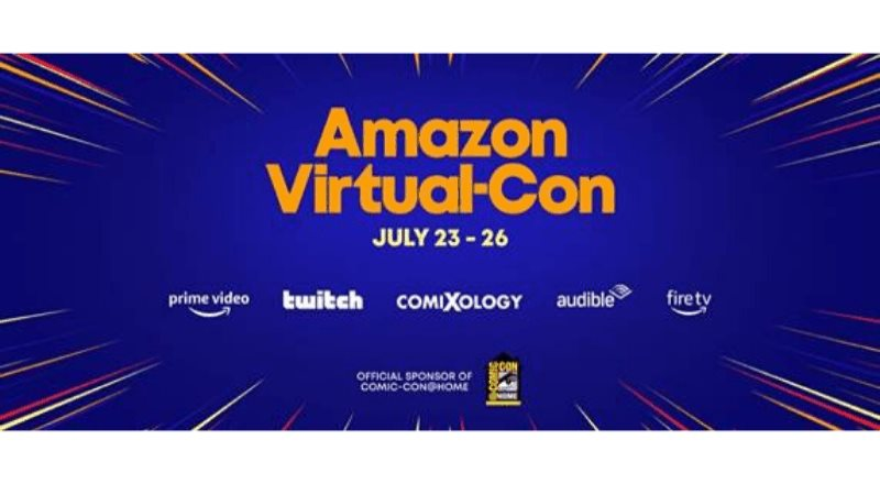 Amazon Prime Video anuncia 4 paneles en Comic-Con Home,