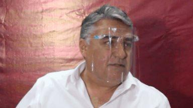 Alejandro Ruíz Uribe da mensaje referente a la liberación de la caseta de cobro de Playas de Tijuana