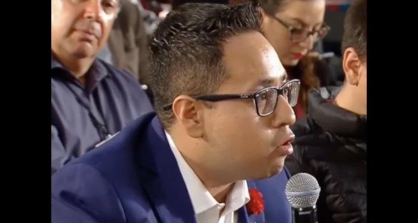 Simpatizantes de AMLO agreden a reportero Irving Pineda en Washington