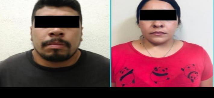 Por secuestro y homicidio vinculan a pareja