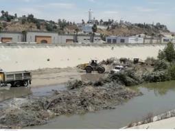 Reporte de limpieza de la Canalización del Río Tijuana