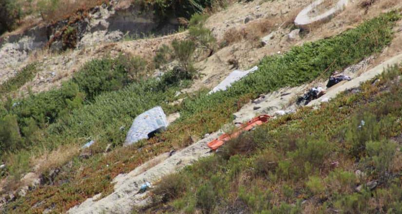 Encuentran cuerpo encobijado en Colinas de la Presa