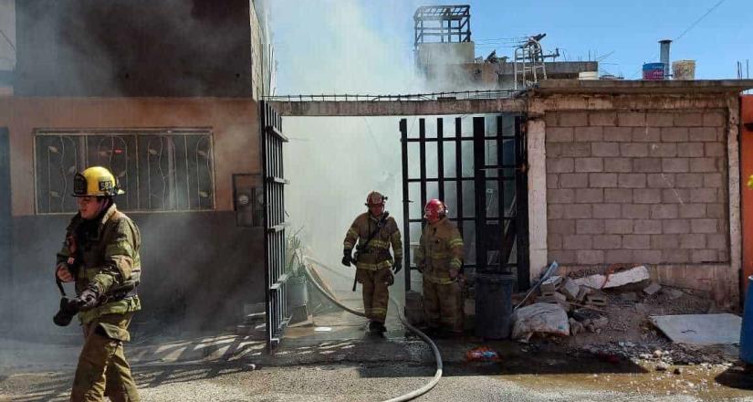 Incendio en la avenida Las Aguas