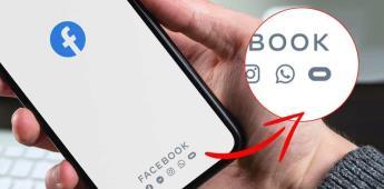 Significado del logo de Facebook que se encuentra junto al de Whatsapp