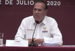 Recorrido del Delegado Único Federal en Baja California Alejandro Ruíz Uribe