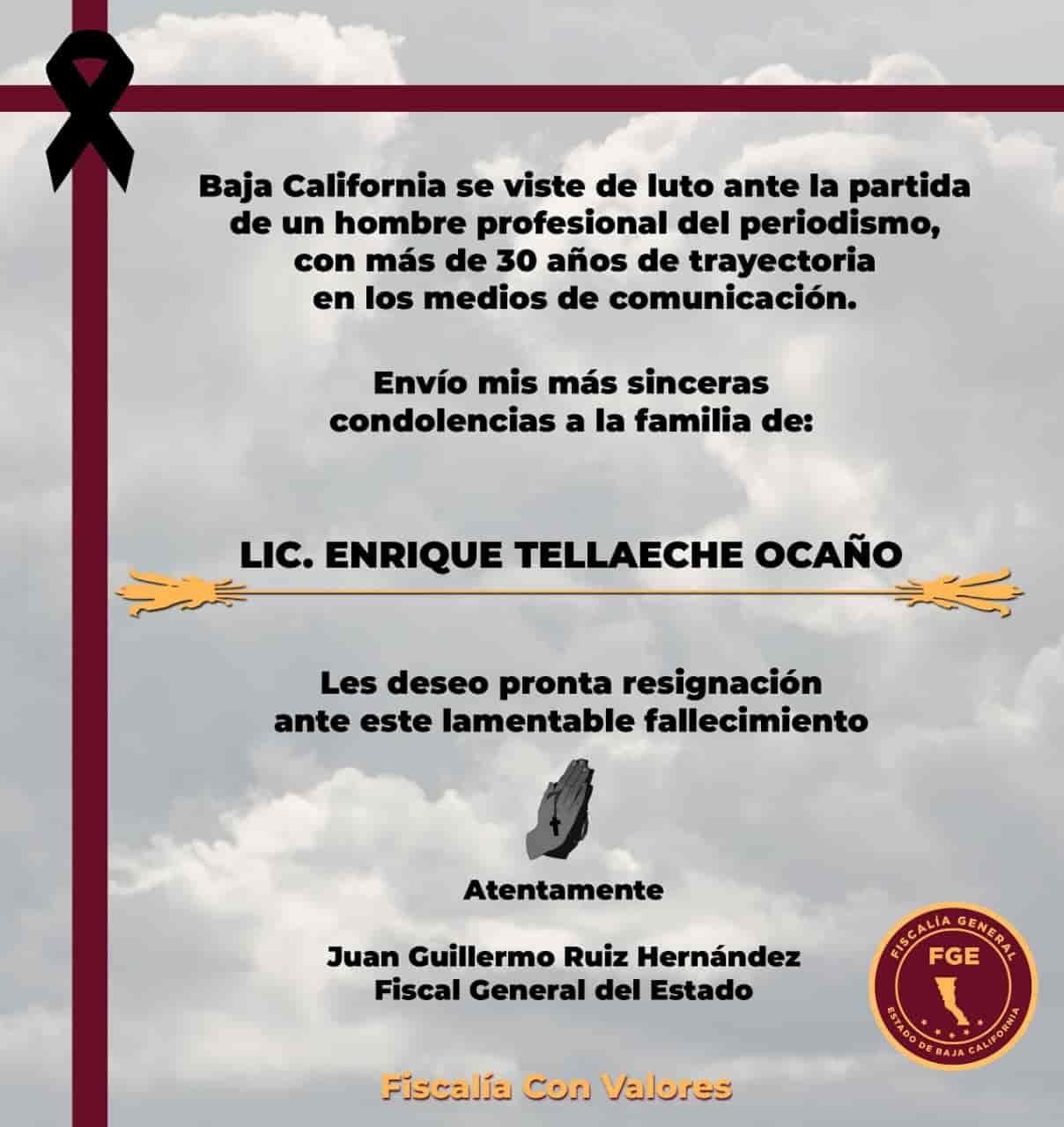 Lic. Enrique Tellaecha Ocaño
