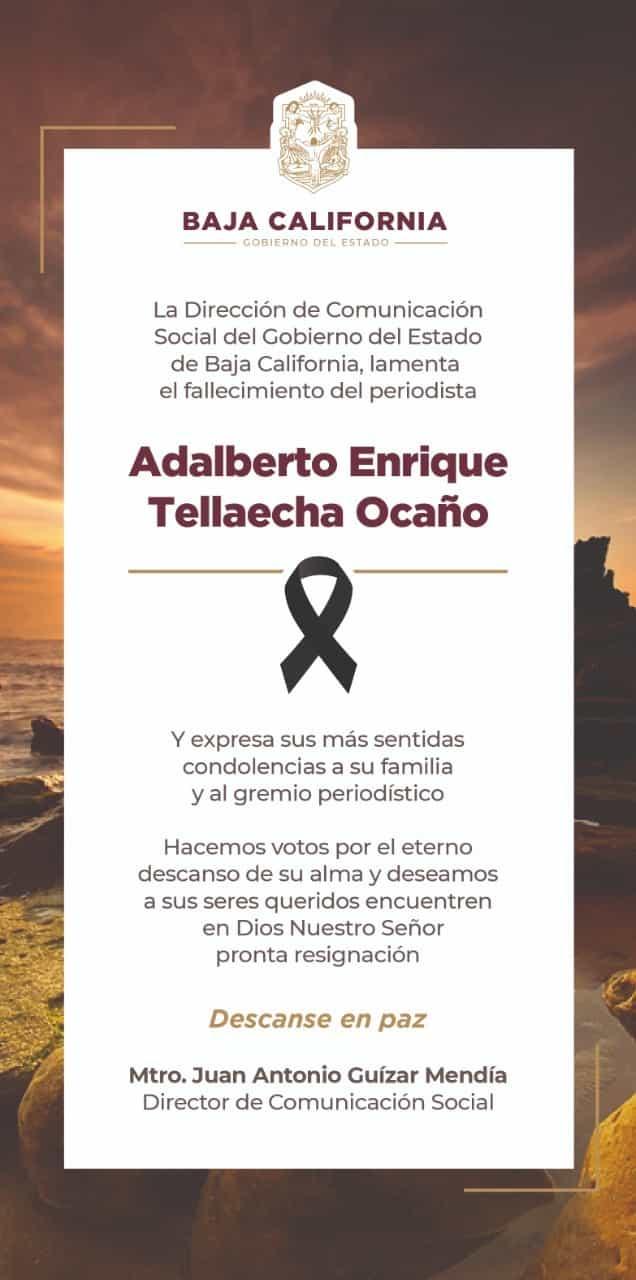 Adalberto Enrique Tellaecha Ocaño