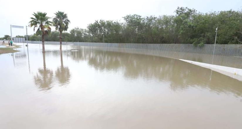 Alertan en Reynosa por desborde del río Bravo