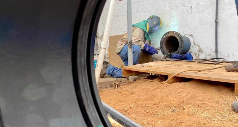 Concluyen trabajos en tanque de CESPT, comienza recuperación del servicio de agua en 40 colonias