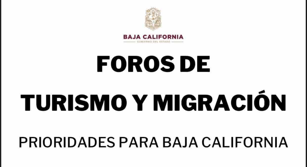 Foros de Turismo y Migración