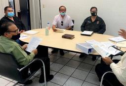 Primer reunión para integración de la guardia metropolitana de Baja California