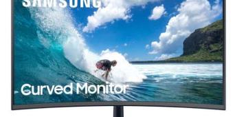 """Samsung Curved Monitor 27"""", tecnología y curvatura óptimas para un desempeño extraordinario"""