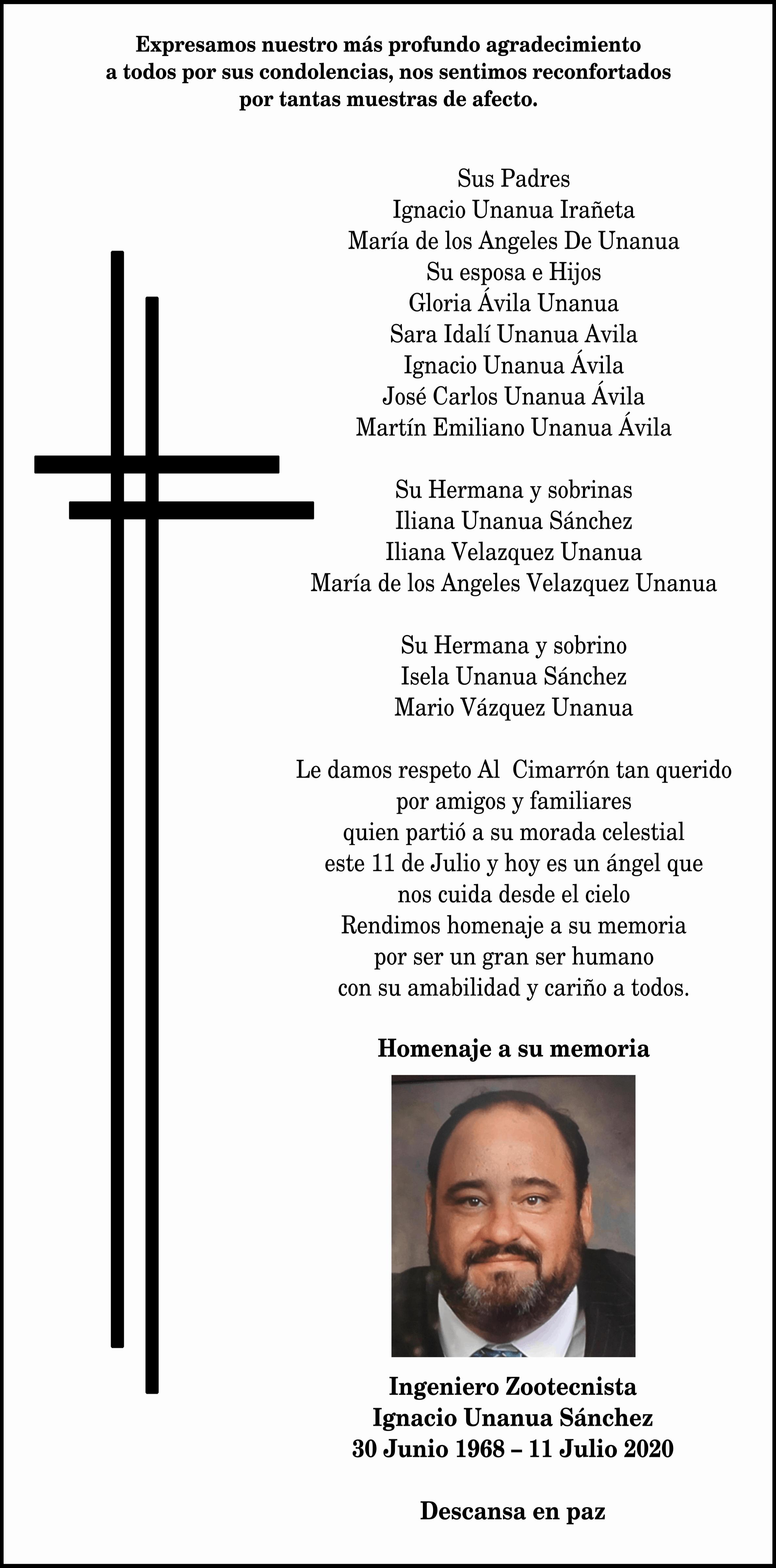 Ignacio Unanua Sánchez
