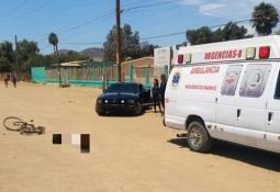 Tres lesionados al chocar en Camalú