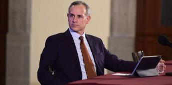 Tras petición de renuncia, defienden a López-Gatell
