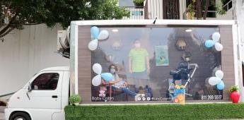 Baby Cabin Parade, cabina sanitizada para que conozcan a bebés durante tiempos de covid-19