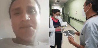 Muere de covid-19 el doctor que donó 5 mil caretas, luego de que le negaran atención médica