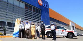 Contribuye BD con insumos médicos para la Cruz Roja de Tijuana