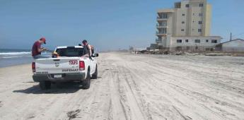 Gobierno Municipal amplia horario de apertura de Playas