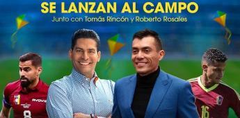 Ismael Cala y Juan Arango se lanzan al campo junto a otras estrellas Vinotinto