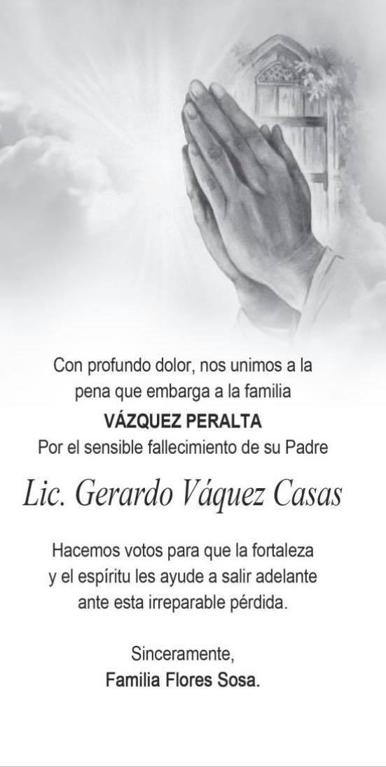 Gerardo Vázquez Casas