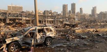 Testigos hablan acerca de las explosiones en Beirut, Líbano