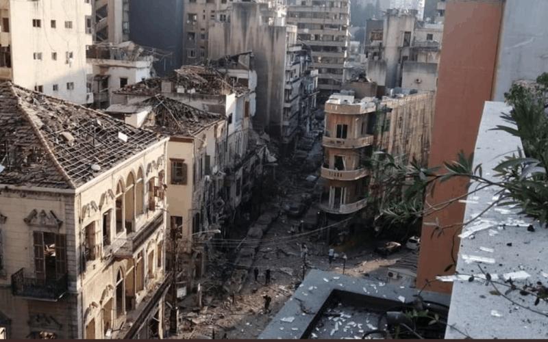 Imágenes de Beirut después de la explosión