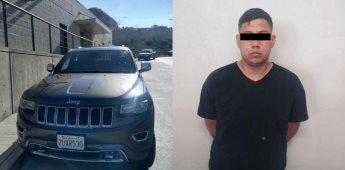 Fiscalía Estatal localiza auto robado