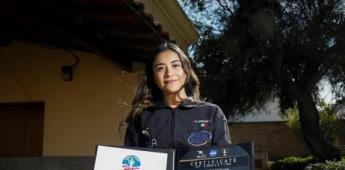 Mexicana elegida por la NASA busca fondos para hacer su estancia