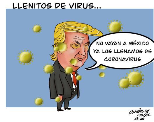 Llenitos de virus...