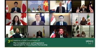 Al concluir los trabajos de la la Tercera Reunión de la Comisión del TIPAT, presidida por México