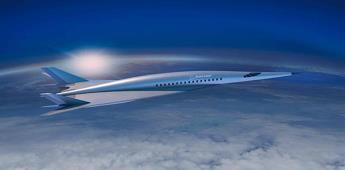 Lanzarán avión supersónico que reducirá 5 veces el tiempo de vuelo