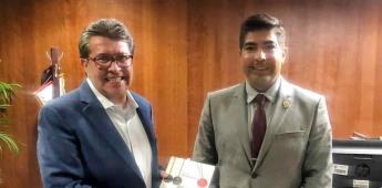 Concretarán Monreal y Ayala proyectos para Ensenada
