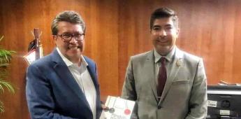 Presentará Ayala proyectos para el desarrollo de Ensenada y SQ