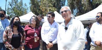 Sobrevoló el gobernador mancha urbana de Ensenada