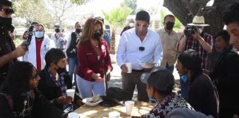 Inaugura alcalde Ayala el primer comedor comunitario